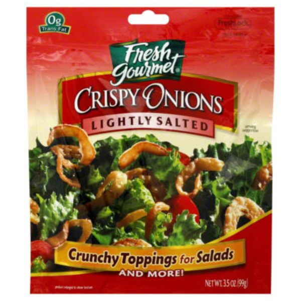 Fresh Gourmet Lightly Salted Crispy Onions