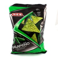 H-E-B Jalapeño Flavored Tortilla Chips