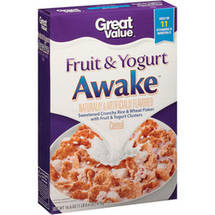 Great Value Fruit & Yogurt Awake Cereal