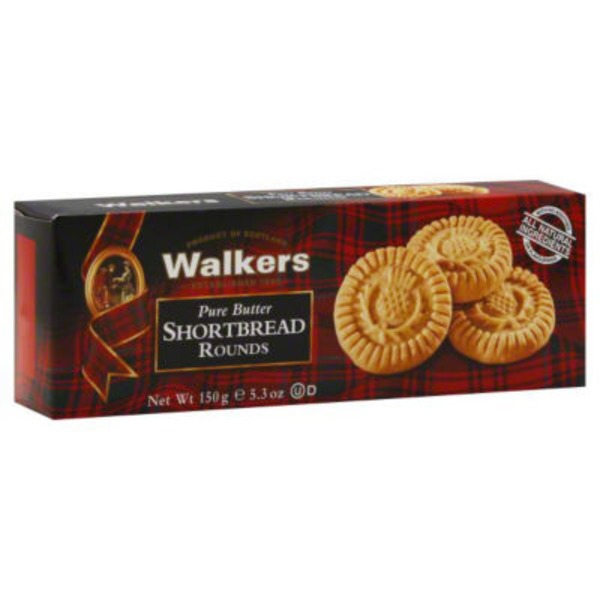 Walkers Shortbread Rounds Pure Butter