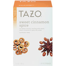 Tazo Sweet Cinnamon Spice Herbal Tea