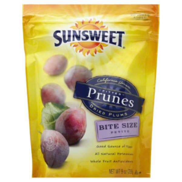 Sunsweet Amazin Bite Size Pitted Prunes