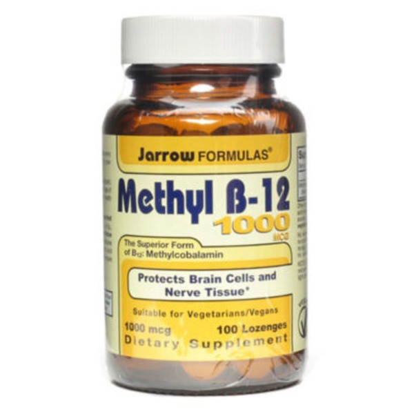 Jarrow Formulas Methyl B12 Lozenges 1000mcg