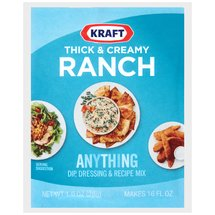 Kraft Thick & Creamy Ranch Anything Dip Dressing & Recipe Mix
