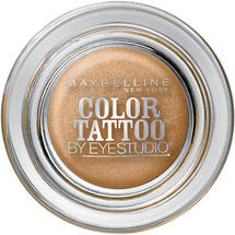 Maybelline Eye Studio Color Tattoo 24 Hour Eyeshadow Bold Gold