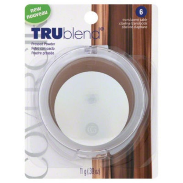 CoverGirl TruBlend COVERGIRL truBlend Pressed Blendable Powder, Translucent Sable .39 oz (11 g) Female Cosmetics