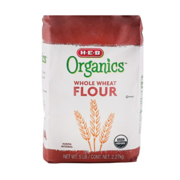 H-E-B Organics Whole Wheat Flour