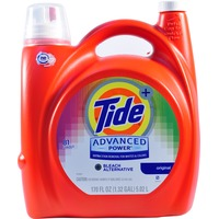 Tide Advanced Power Plus Bleach Alternative Liquid Laundry Detergent, HE Turbo Clean 170 oz 81 loads Laundry