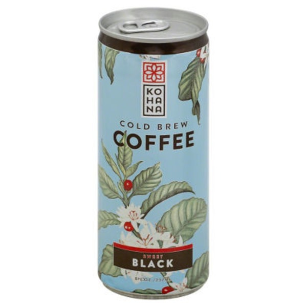 Kohana Sweet Black Cold Brew Coffee