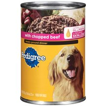 Pedigree W/ Chopped Beef Meaty Ground Dinner