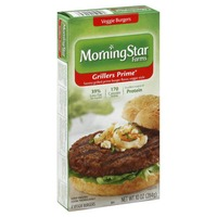 Morning Star Farms Grillers Prime Burgers