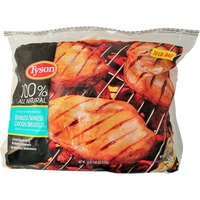 Tyson Chicken Breasts, Boneless Skinless, with Rib Meat