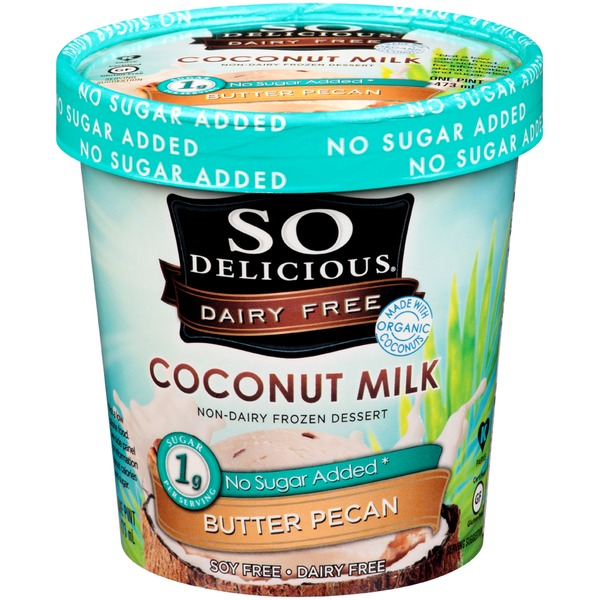 So Delicious Coconut Milk Butter Pecan Non-Dairy Frozen Dessert