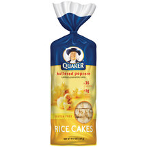 Quaker Butter Popcorn Rice Cakes