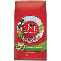 Purina ONE SmartBlend Lamb & Rice Formula Premium Dog Food