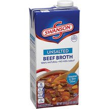 Swanson Unsalted Beef Flavored Broth