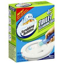 Scrubbing Bubbles Fresh Clean Gel Discs Toilet Cleaning Gel