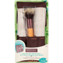 Ecotools Collector's Brush Roll with Multi-Tasking Face Brush