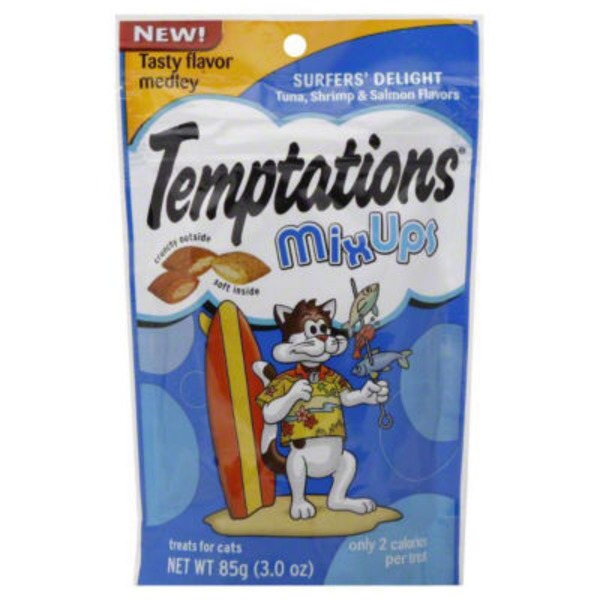 Temptations Mix Ups Surfers' Delight (PS #5160628) Cat Care & Treats
