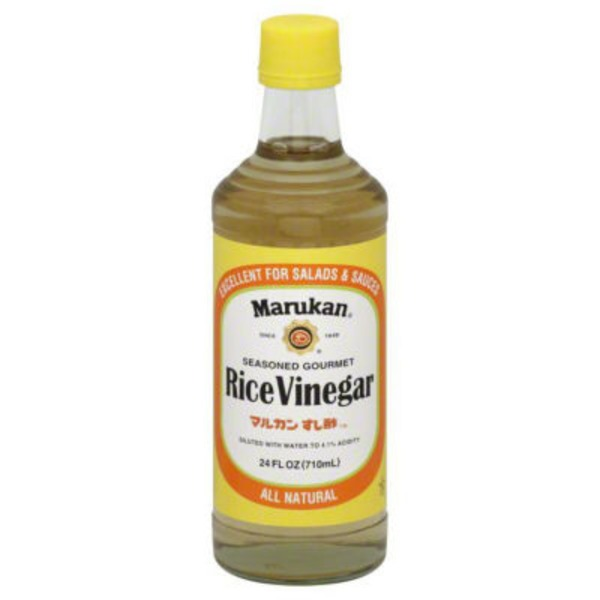 Marukan Rice Vinegar, Seasoned Gourmet