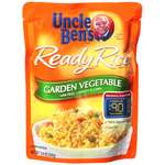 Uncle Ben's Garden Vegetable w/Peas Carrots & Corn Ready Rice
