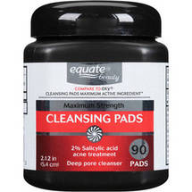 Equate Maximum Strength Daily Cleansing Pads 1 ct