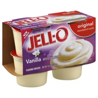 Jell O Ready To Eat Original Vanilla Pudding Snacks
