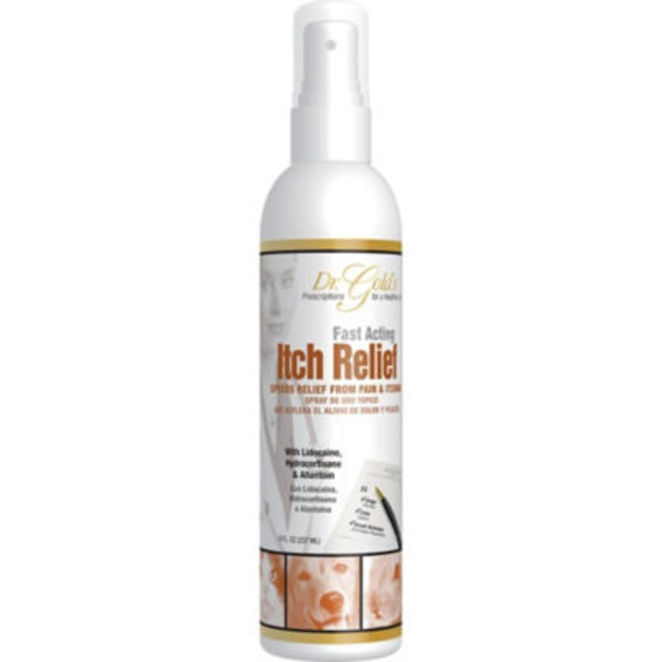 Synergy Labs Dr. Golds Fast Acting Itch Relief Spray