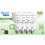 Great Value 23W Soft White CFL
