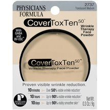 Cover Tox Ten 50 Wrinkle Therapy Face Powder Translucent Medium 2737