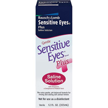 Sensitive Eyes Gentle Plus w/Potassium Saline Solution