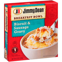 Jimmy Dean Breakfast Bowl Biscuit & Sausage Gravy