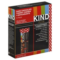 KIND Dark Chocolate Cherry Cashew Plus Antioxidants 1.4 oz Fruit & Nut Bars