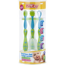Nuby 4 Stage Baby Oral Care System