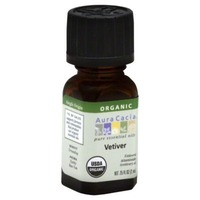 Aura Cacia Organic Vetiver Essential Oil