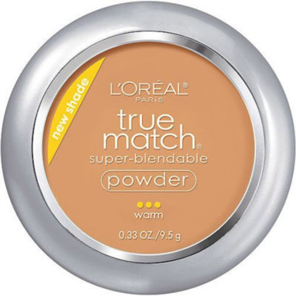 True Match Super-Blendable Powder W5.5 Suntan Foundation