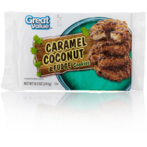 Great Value Caramel Coconut & Fudge Cookies