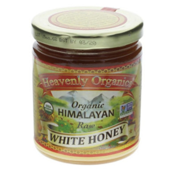 Heavenly Organics Organic Himalayan Raw White Honey