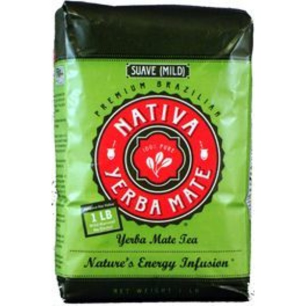 Nativa Yerba Mate Loose Leaf Mild Yerba Mate Tea