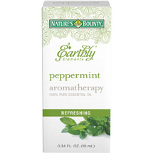 Nature's Bounty Earthly Elements Aromatherapy Peppermint 100% Pure Essential Oil