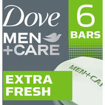Dove Men+Care Extra Fresh Body and Face Bar Soap