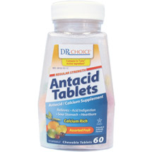 DRX Choice Tropical Fruit Antacid/Calcium Supplement