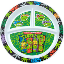 Gerber Graduates Teenage Mutant Ninja Turtles Dinnerware Plate BPA Free
