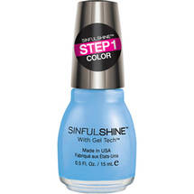 SinfulColors SinfulShine Step 1 Color Nail Color Alfresco