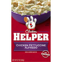 Betty Crocker Chicken Helper Fettuccine Alfredo