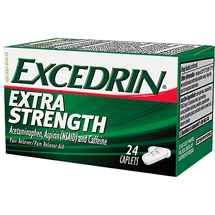 Excedrin Extra Strength Extra Strength Caplets Pain Reliever/Pain Reliever Aid