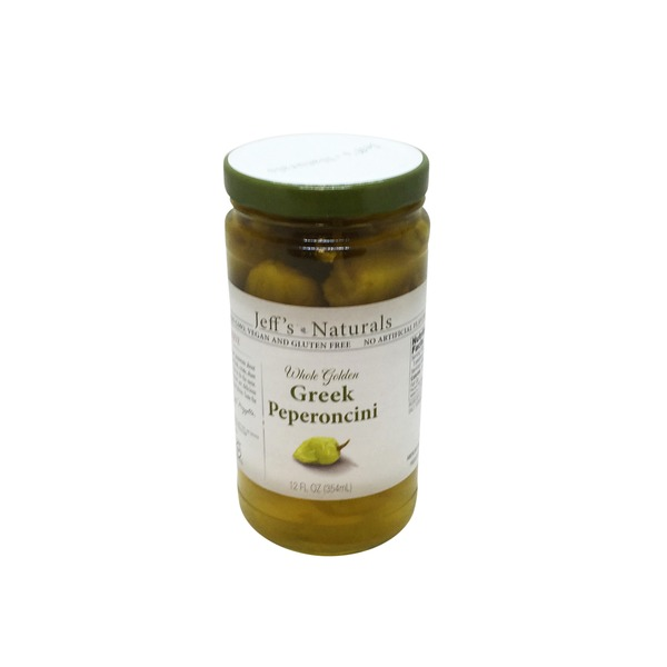 Jeff's Naturals Whole Golden Greek Pepperoncini