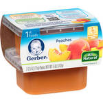 Gerber 1st Foods Peaches Baby Food