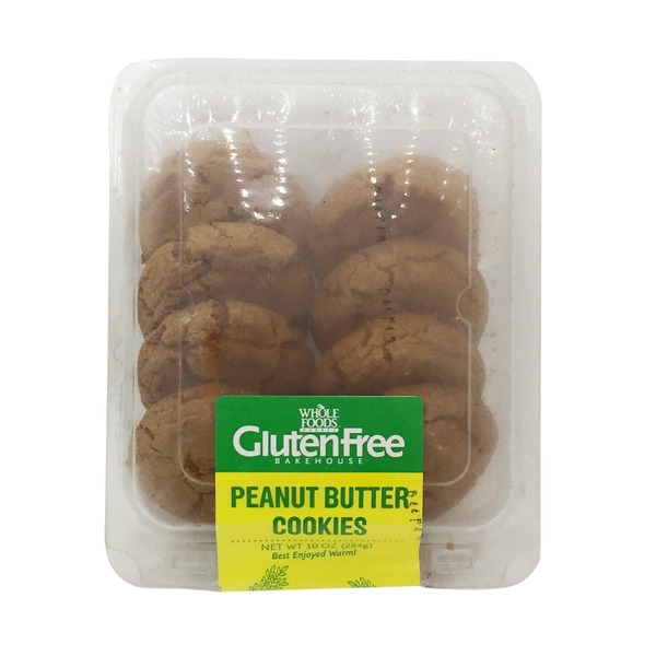 Whole Foods Market Gluten Free Peanut Butter Cookies