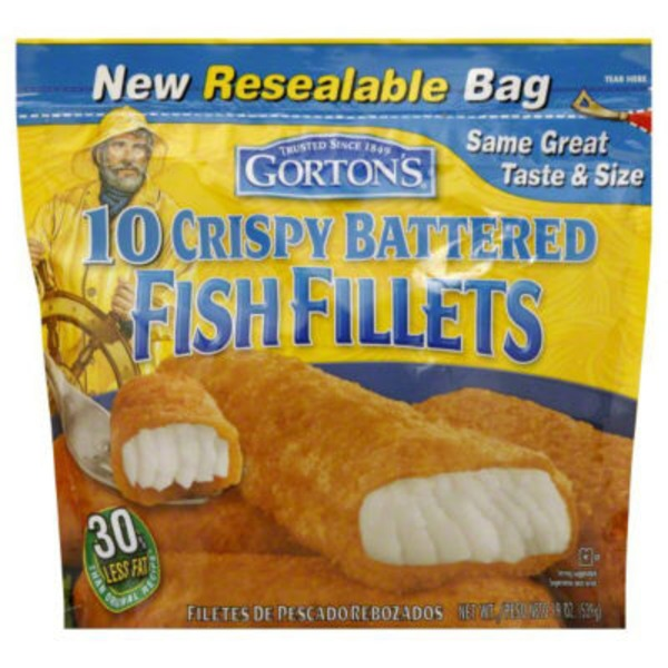 gorton's ® crispy battered fish fillets from heb in